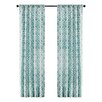 Madison Park Delray Diamond Curtain Panel