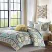 Madison Park Samara 6 Piece Duvet Set