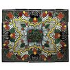 "<strong>Native Trails, Inc.</strong> Quatrefoil 20"" x 16"" Hand Painted Talavera Mural Tile (Set of 20)"
