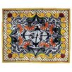 "<strong>Native Trails, Inc.</strong> Golondrina 20"" x 16"" Hand Painted Talavera Mural Tile (Set of 20)"