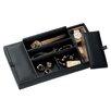 Royce Leather Luxury Genuine Leather Valet Dresser Tray for Jewelry Storage