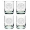 Susquehanna Glass 14 Oz. Morocco Rocks Glass (Set of 4)