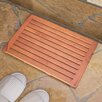Taymor Industries Inc. Teak Bath Mat