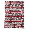 <strong>Eco Designer Vintage Union Jack Throw Blanket</strong> by In2Green