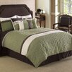 <strong>Hallmart Collectibles</strong> Frontera Quilted 7 Piece Comforter Set