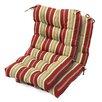 Greendale Home Fashions High Back Chair Cushion (Set of 2)
