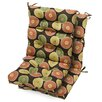 Greendale Home Fashions High Back Chair Cushion (Set of 2)