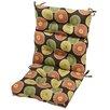 Greendale Home Fashions High Back Chair Cushion