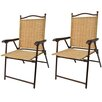 Greendale Home Fashions Sling Back Outdoor Chair (Set of 2)