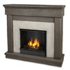 Real Flame Cascade Cast Mantel Gel Fuel Fireplace
