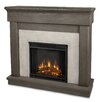 <strong>Real Flame</strong> Cascade Cast Mantel Electric Fireplace