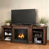 "<strong>Valmont 75.5"" TV Stand with Gel Fireplace</strong> by Real Flame"
