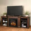 "<strong>Valmont 75.5"" TV Stand with Electric Fireplace</strong> by Real Flame"