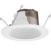 Lithonia Lighting 6 in. Matte White Recessed Baffle LED Module 6BPMW LED M6