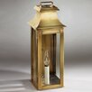 Northeast Lantern Concord 1 Candelabra Socket Pagoda Wall Lantern