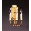 <strong>Northeast Lantern</strong> Sconce 3 Light Candelabra Socket