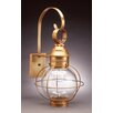 Northeast Lantern Onion Medium Base Sockets Caged Round Wall Lantern
