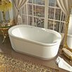 "Spa Escapes Royal 67"" x 34"" Soaking Bathtub"