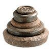 Barreveld International Iron Assorted Weights Statue (Set of 5)