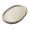<strong>Marble Oval Plate</strong> by Barreveld International
