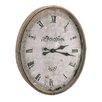 "<strong>28.5""  Wood / Glass Metro Clock</strong> by Barreveld International"
