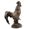 <strong>Cast Iron Rooster Statue</strong> by Barreveld International