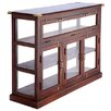 Barreveld International Fall Wood and Glass Display Case