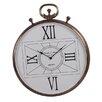 Barreveld International Fall Metal Round Quadrant Dial Clock
