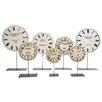 Barreveld International Fall 7 Piece Antiqued Enamel Clock Face Set