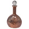 Barreveld International Fall Glass Oval Decorative Decanter