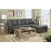 Poundex Bobkona Monteral Reversible Sectional