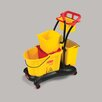 <strong>Rubbermaid Commercial Products</strong> WaveBrake Mopping Trolley Down Press