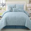 Devon 5 Piece Reversible Comforter Set