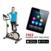 Exerpeutic Fitness 3000 Mobile App Tracking Magnetic Upright Bike