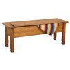 <strong>Sedona Wood Storage Bench</strong> by Sunny Designs