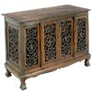 EXP Acacia Flower Vines Sideboard Buffet