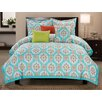 Luxury Home Seraphina 6 Piece Comforter Set