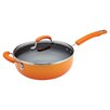 Rachael Ray Porcelain II Nonstick 4.5-qt. Saute Pan with Lid