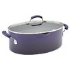 <strong>Rachael Ray</strong> Porcelain II Nonstick 8 Qt. Stock Pot with Lid