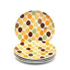"Little Hoot 8"" Salad/Dessert Plates: Set of (4)"