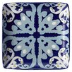 "<strong>Rachael Ray</strong> Ikat 6"" Square Appetizer Plate (Set of 4)"