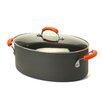 <strong>Hard Anodized II 8 Qt. Stock Pot with Lid</strong> by Rachael Ray