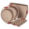 Rachael Ray Cucina 4 Piece Nonstick Bakeware Set