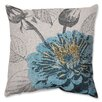 <strong>Pillow Perfect</strong> Rose Throw Pillow