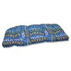 Pillow Perfect Grillin Wicker Loveseat Cushion