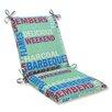 Pillow Perfect Grillin Chair Cushion