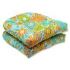 Pillow Perfect Glynis Wicker Seat Cushion (Set of 2)