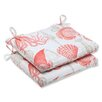 <strong>Pillow Perfect</strong> Sealife Seat Cushion (Set of 2)