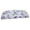Pillow Perfect Sealife Wicker Loveseat Cushion