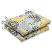 Pillow Perfect Full Bloom Seat Cushion (Set of 2)